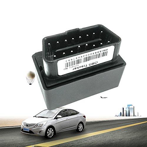 Wanway kleine Plug Play Anti-Diebstahl OBD GPS Tracker Fahrzeug Management mit Over-Speed Alarm (45.2(L)*25.1(W)*32(H)mm) Alarm-gps-tracker