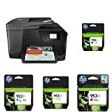 HP OfficeJet Pro 8715 Multifunktionsdrucker schwarz + HP 953XL Multipack