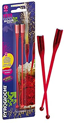 2 x Cocktail Ice Fountain Swizzle Sticks from Indoor Fireworks Ltd
