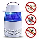 Thread_de® USB-Strahlung frei Baby-Moskito-Lampe, inhalierte Mücken-Gerät Elektrischer Käfer Zapper LED-Käfer Zapper USB-Fliegenfalle fliegen Insektenmörder Mücke (Weiß)