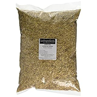 JustIngredients Essentials Avens Oat Straw 500 g, Pack of 2