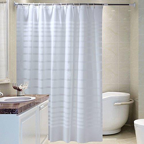 DW&HX Dusche Vorhang Liner Mehltau Resistente,Verdicken Sie Wasserdicht PEVA Duschvorhänge Vorhang Duschvorhänge Haken- & Liner-G 150x180cm(59x71inch)