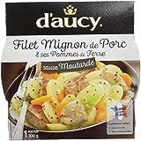 d'aucy Filet Mignon de Porc/Ses Pommes de Terre Sauce Moutarde 300 g -