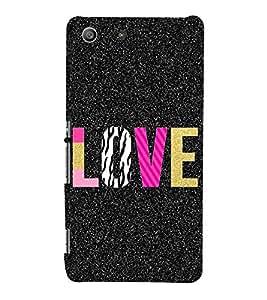 PrintVisa Designer Back Case Cover for Sony Xperia M5 Dual :: Sony Xperia M5 E5633 E5643 E5663 (Love Pattern)