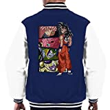 Dragon Ball Z Yamcha Vs Men's Varsity Jacket