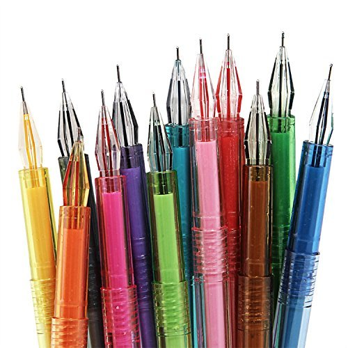 genorthr-multi-colorful-gel-ink-pens-set-10-pcs-colours-watercolour-effect-korean-cartoon-vibrant-co