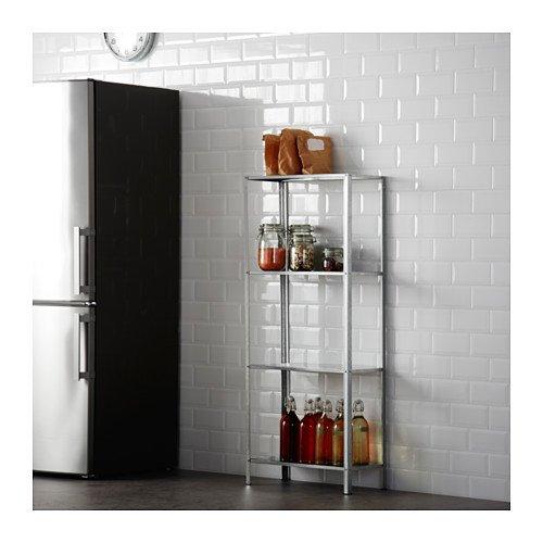 Ikea HYLLIS Regal verzinkt; für Drinnen und draußen; (60x27x140cm)