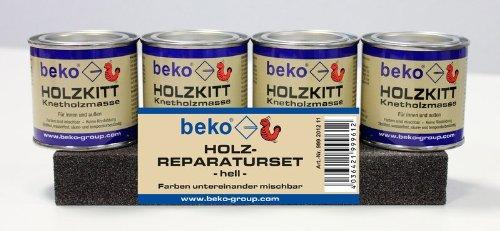 BEKO 999201211 SET: Holz-Reparaturset -HELL -
