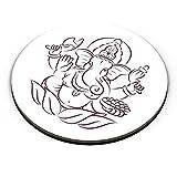 PosterGuy Fridge Magnet - Hand Drawn Ganesha | Designed by: Codeburnerz Technologies