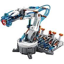 Juguetrónica - Hydraulic Arm, brazo robótico hidráulico para construir (JUG0262)