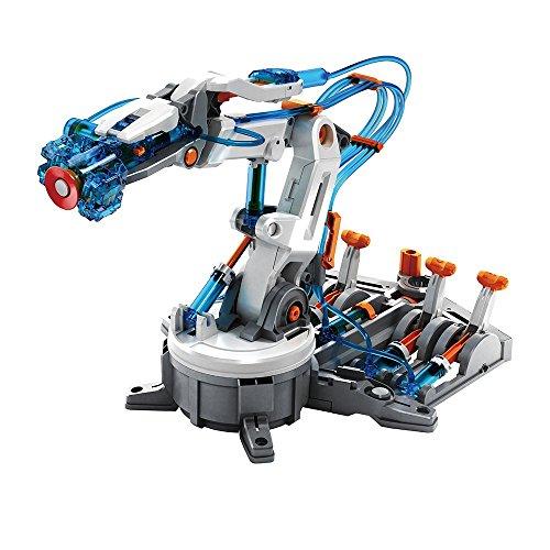Juguetrónica- Hydraulic Arm, Brazo robótico hidráulico para Construir (JUG0262)