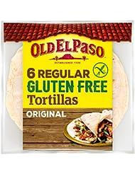 Old El Paso 6 Regular Original Gluten Free Tortillas -216g