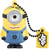 Minions Despicable Me Stuart 16 GB USB Flash Drive | Official Minion Collectible Gift | Pen Drive Keychain