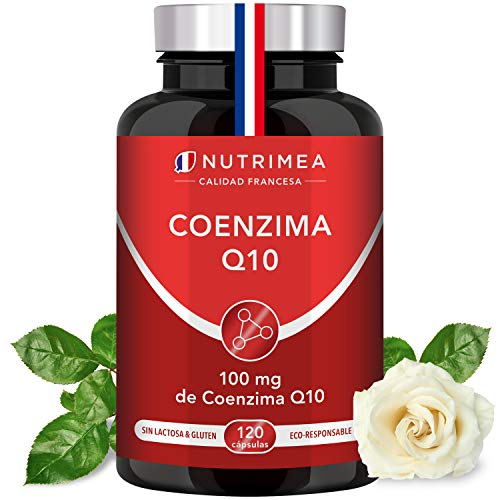 Coenzima Q10 Piel Huesos Potente Antioxidante Colesterol CoQ10 Anti Edad Regenerador Celular Arrugas Lineas de Expresión Ubiquinona Tratamiento 4 Meses Sistema Cardiovascular Inmunológico