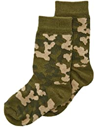 Country Kids Boy's Camouflage Calf Socks