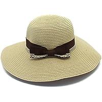LBY Sombrero De Paja De Yangda Sombrero De Playa De Verano Sombrero De Arco  Sombrero De 4d9ba057e80