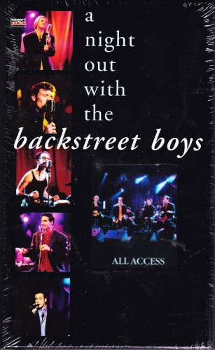 Rough Trade Backstreet Boys - A Night Out With The Backstree [VHS]