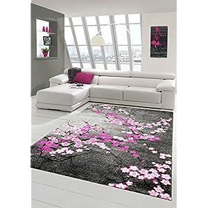 Teppiche Wohnzimmer Grau Rosa günstig online kaufen | Dein Möbelhaus