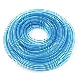 sourcingmap® 20M Lange Blau Silikon Benzinschlauch Öl Kraftstoffleitung Schlauch für Motorrad