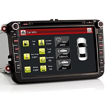 iFreGo-8-AUTORADIO-DVD-8-Zoll-GPS-Fr-VW-GolfPassatTiguanPoloJettaSkoda-Fabia-OctaviaYeti-Seat-LeonTouranCandy-SharanAmarok-mit-3G-WiFi-DVD-GPS-Navigation-NAVI-USB-SD-Bluetooth