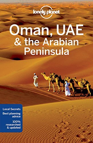 Portada del libro Lonely Planet Oman, UAE & Arabian Peninsula (Travel Guide) by Lonely Planet (2016-09-20)