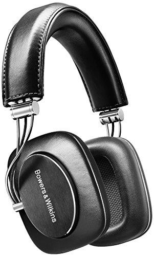 Bowers Wilkins y P7 de piel auriculares Hi-Fi auriculares para iPhone - negro