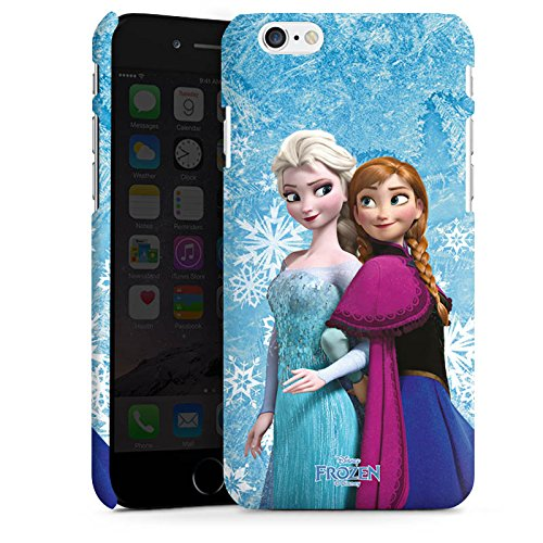 Apple iPhone 6 Plus Hülle Premium Case Cover Disney Frozen Geschenke Merchandise Premium Case matt