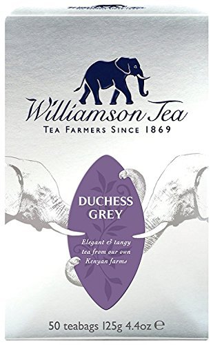 Williamson Tea Duchess Grey (Pack of 4, Total 200 Teabags)