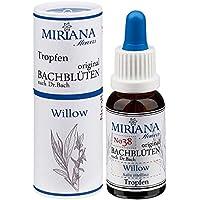 MirianaFlowers Willow 20ml Bachblüten Stockbottle preisvergleich bei billige-tabletten.eu