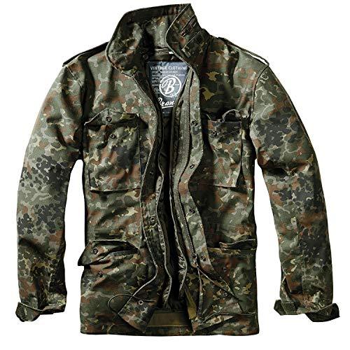 Brandit M65 Standard Jacke Flecktarn, Mehrfarbig (Flecktarn 14), M
