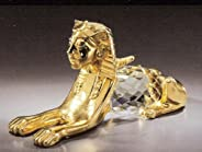 Asfour Crystal 345-50 3.93 L x 2.04 H in. Crystal Sphinx Egyptian Figurines