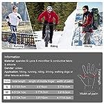 VBIGER-Guanti-invernali-rinforzati-Guanti-caldi-touchscreen-Guanti-ciclismo-antiscivolo-Grigio-scuro