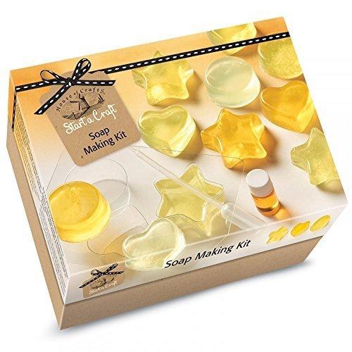 House Of Crafts Soap Making Starter Craft Kit Lemon Scented Gift Set