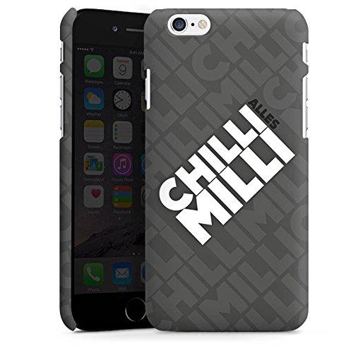 Apple iPhone X Silikon Hülle Case Schutzhülle LPmitKev Fanartikel Merchandise Alles Chilli Milli Grau Premium Case matt