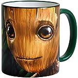 Guardianes de la Galaxia Vol. 2 taza I Am Groot de Elbenwald cerámica verde