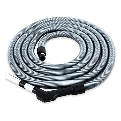 Plastiflex Komfort Schlauch für Zentralstaubsauger/Staubsaugeranlage, 9.1m Länge, passend für viele Marken und Anbieter