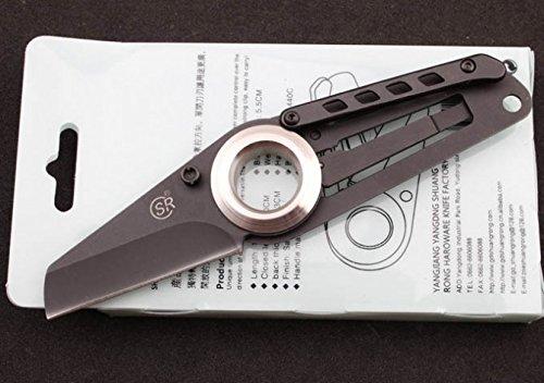 SR 277A De l'argent Clipper Ouvre-lettre Couteau De Poche Pliant Folding Knife