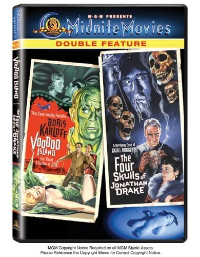 Voodoo Island/The Four Skulls of Jonathan Drake (Midnite Movies Double Feature) by Boris Karloff
