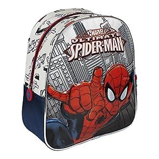 Mochila Infantil de Spiderman de 24x28x10 cm