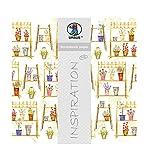 Ursus 703000294 - Premium Glitter Scrapbook paper Flower Shop, ca. 30,5 x 30,5 cm, 5 Blatt, Motiv 294