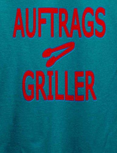 Auftragsgriller Herren T-Shirt Türkis