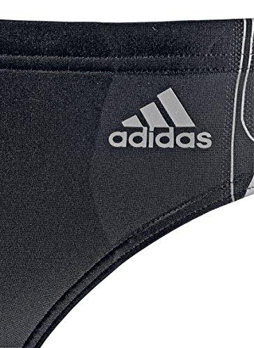adidas Herren Badehose Tech Range schwarz/grau