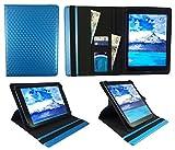 Sweet Tech Majestic TAB-611 3G 10.1 Pollici Tablet Cubo 3D Blu Universale 360 Gradi di Rotazione PU Pelle Custodia Case Cover (9-10 Pollici
