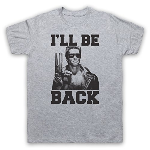Men's Terminator I'll Be Back Unofficial T-Shirt