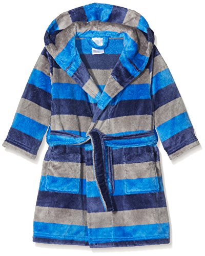 Sanetta Jungen Bademantel 244018, Blau (Oasis 5751), 152