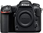 Nikon D500 Digitale spiegelreflexcamera (20,9 megapixel, 8 cm (3,2 inch) LCD-touchmonitor, 4K UHD-video, WiFi) Kit incl. Nik