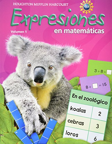 Math Expression, Grade 1 Student Activity Book: Houghton Mifflin Harcourt Math Expression Spanish (Math Expressions 2009-2012) por Hm