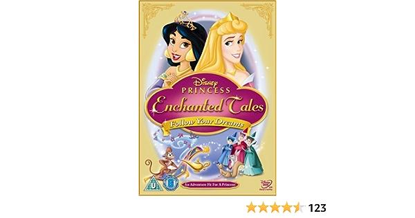 Disney Princess Enchanted Tales Follow Your Dreams Uk Import Dvd Blu Ray