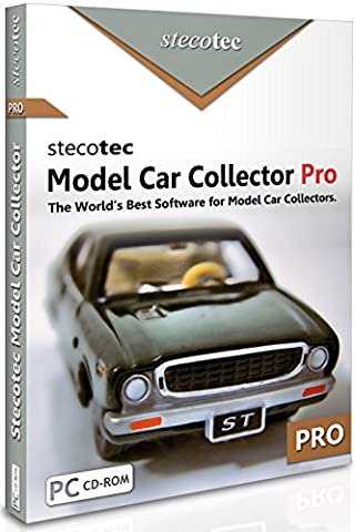 Collecting Software: Stecotec Model Car Collector Pro: Inventory Program for Your Diecast Collection - Management for Models and Accessories (suitable for Airfix, Corgi, Welly, Matchbox, Hot Wheels, Dinky, Schuco, Revell, Franklin Mint