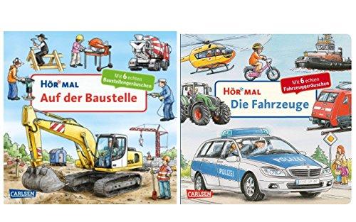 Hör Mal: Auf der Baustelle + Hör Mal: Die Fahrzeuge